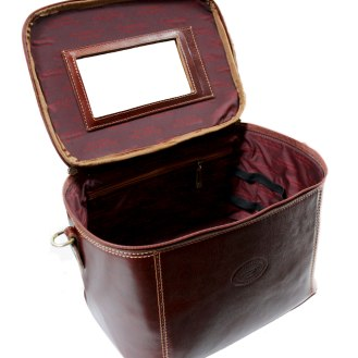 Coperchio apertura beauty case